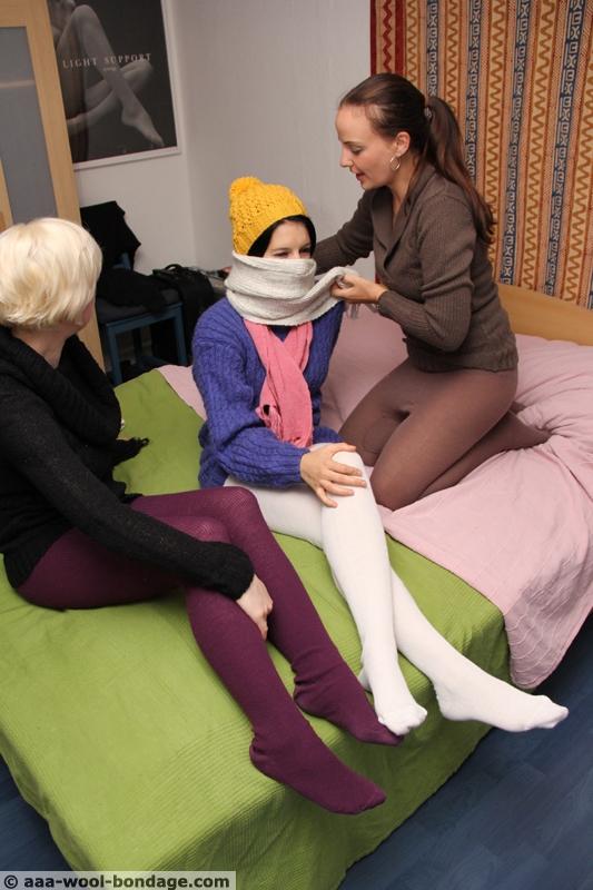 Girls socks fetish
